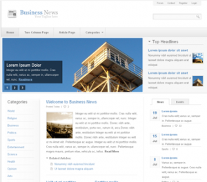 poslovne novice spletna stran